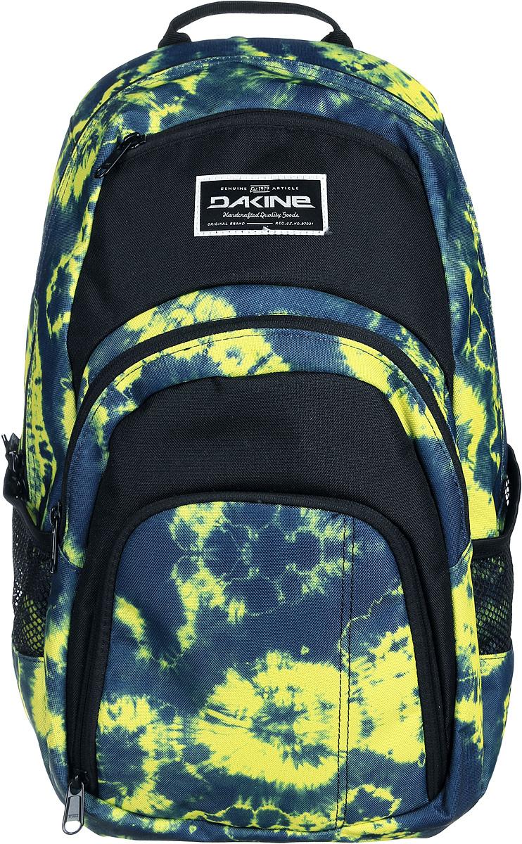 Рюкзак Dakine DK CAMPUS 25L FLOYD. 0813005600116669 08130056Городской рюкзак с отделением для ноутбука ( до 14). Карман-органайзер, карман-термос, карман-сетка снаружи. Карман для очков из мягкого флиса.
