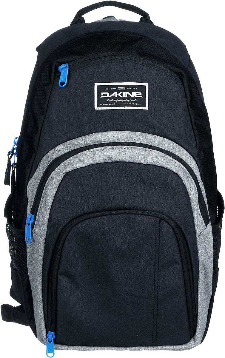 Рюкзак Dakine DK CAMPUS 25L TABOR. 0813005600116667 08130056Городской рюкзак с отделением для ноутбука ( до 14). Карман-органайзер, карман-термос, карман-сетка снаружи. Карман для очков из мягкого флиса.