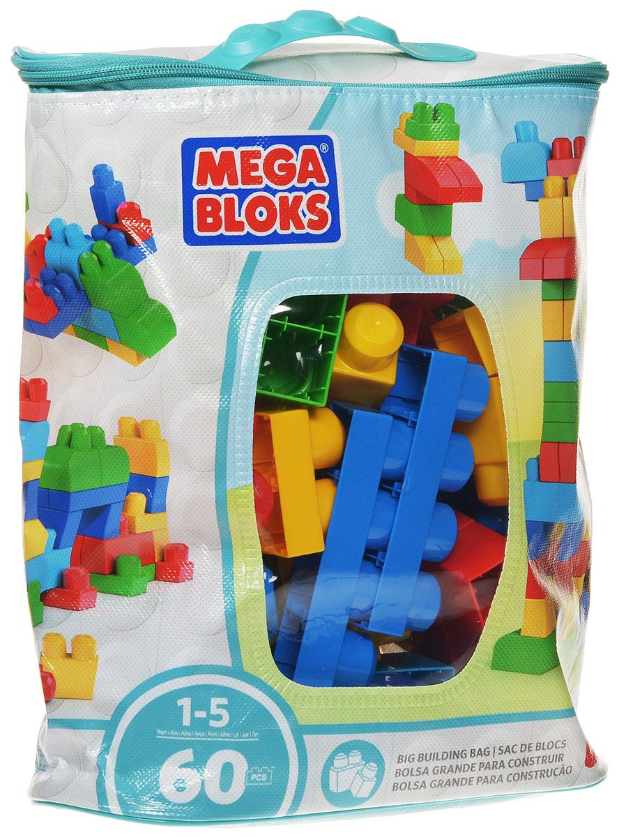 Mega Bloks First Builders Конструктор Big Builder BagCYP67_DCH55Конструктор Mega Bloks First Builders порадует вашего ребенка яркими цветами. Большие блоки конструктора подходят для постройки замков, в которых могут развернуться различные приключения. Набор состоит из 60 блоков. После игры все детали можно убрать в удобную сумку с застежкой! Конструктор предназначен специально для самых маленьких строителей. Играя с конструктором, малыш отлично разовьет мелкую моторику рук, координацию движений, усидчивость, воображение и фантазию, пространственное мышление, а также познакомится с такими понятиями, как цвет, форма и размер предмета.