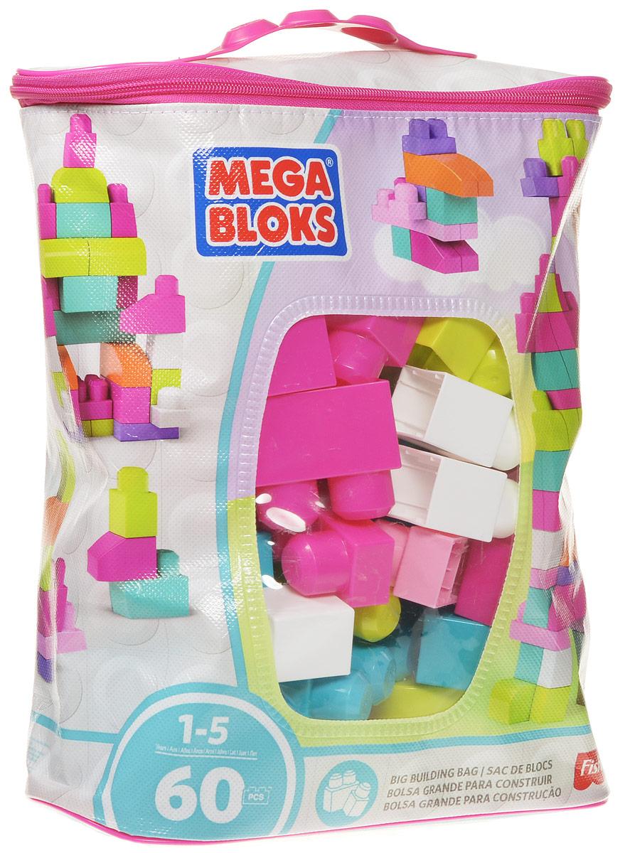 Mega Bloks First Builders Конструктор DCH54CYP67_DCH54Стройте и играйте вместе с конструктором Mega Bloks: First Builders! Его яркие разноцветные блоки постоянно подталкивают детей к новым экспериментам, развивая у них воображение и творческое мышление. Крупные блоки отлично подходят для маленьких пальчиков. После игры все детали можно убрать в удобную сумку на застежке-молнии! Конструктор предназначен специально для самых маленьких строителей. Играя с конструктором, ребенок отлично разовьет мелкую моторику рук, координацию движений, усидчивость, воображение и фантазию, пространственное мышление, а также познакомится с такими понятиями, как цвет, форма и размер предмета.