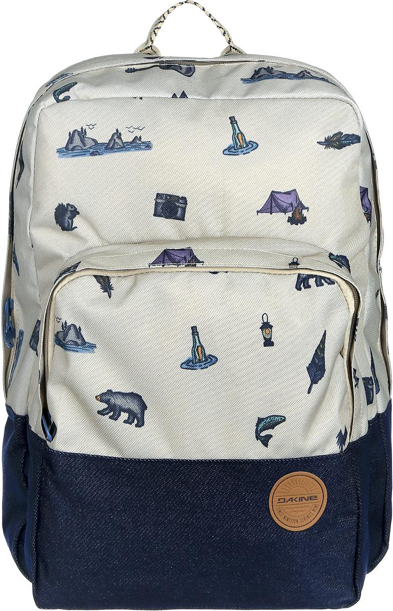 Рюкзак женский Dakine DK WOMENS CAPITOL PACK 23L ROCKAWAY. 0821005900117063 08210059Городской женский рюкзак с отделением для ноутбука ( до 15). Один внешний карман.
