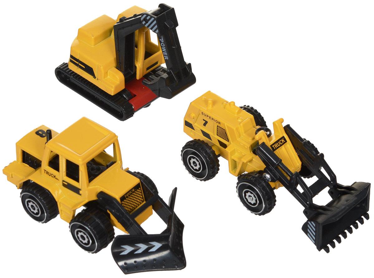 Junfa Toys Набор строительной техники 3 шт ( 1803-3A )