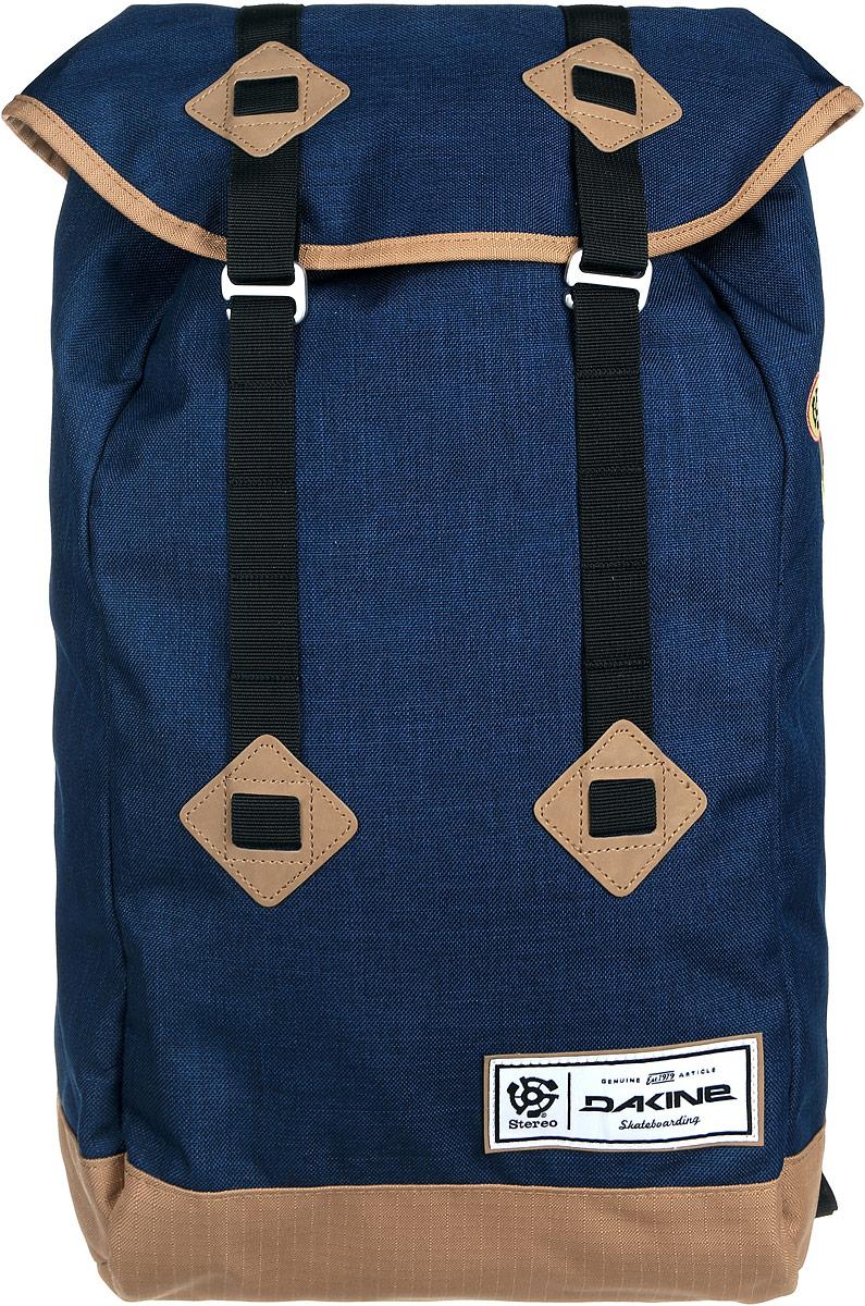 Рюкзак Dakine DK TREK 26L STEREO COLLAB. 813008300108429 8130083Городской рюкзак. С отделением для ноутбука (до 17) Внутри карман-сетка.