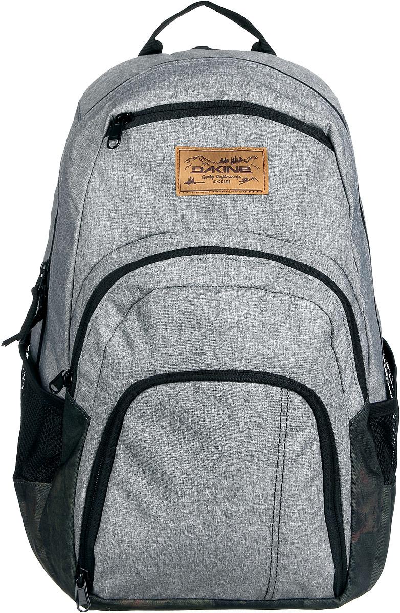 Рюкзак Dakine DK CAMPUS 25L GLISAN. 0813005600116671 08130056Городской рюкзак с отделением для ноутбука ( до 14). Карман-органайзер, карман-термос, карман-сетка снаружи. Карман для очков из мягкого флиса.