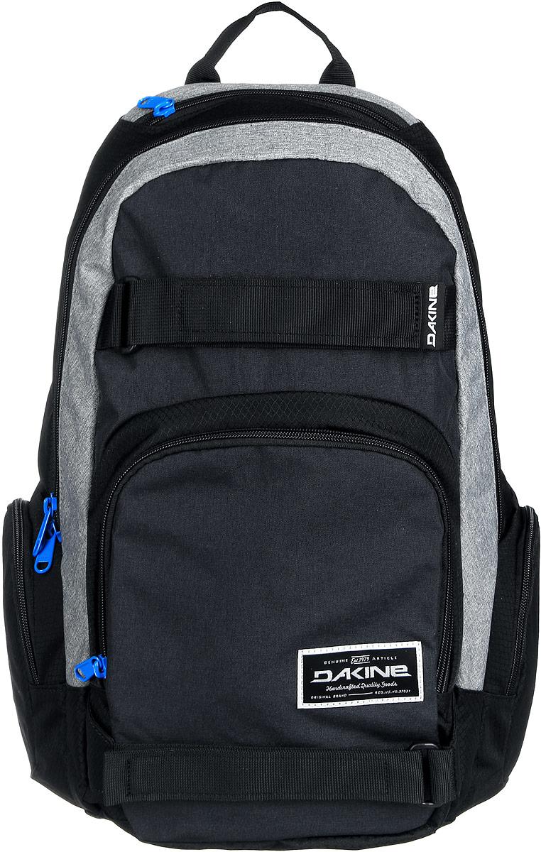 Рюкзак Dakine DK ATLAS 25L TABOR. 0813000400116643 08130004Городской рюкзак с отелением для ноутбука ( до 15) 3 внешних кармана на молнии, карман для очков из мягкого флиса. Имеются лямки для переноски скейтборда.