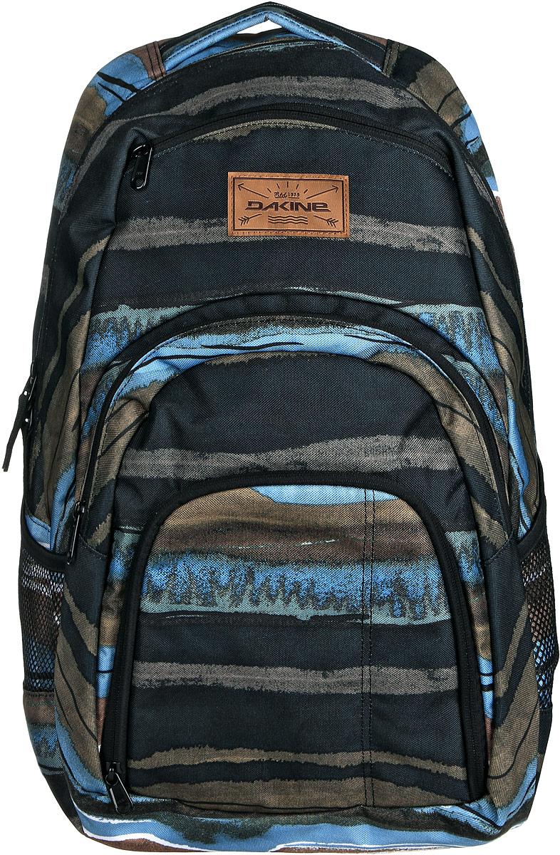 Рюкзак Dakine DK CAMPUS 33L SHORELINE. 0813005700116672 08130057Городской рюкзак с отделением для ноутбука ( до 15). Карман-органайзер, карман-термос, карман-сетка снаружи. Карман для очков из мягкого флиса.