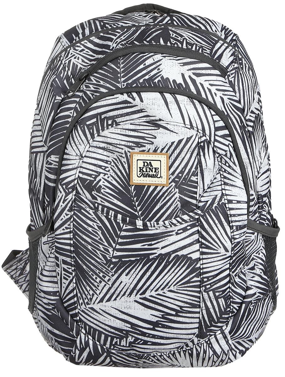Рюкзак женский Dakine DK GARDEN 20L KONA. 0821005000117055 08210050Городской женский рюкзак с отделением для ноутбука ( до 14) Карман для очков из мягкого флиса, карман-органайзер, боковые карманы из сетки.