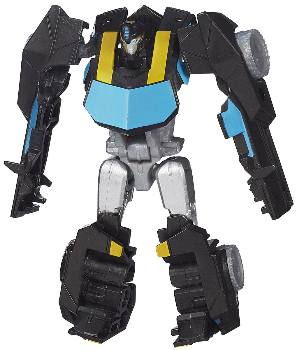 Transformers Трансформер BumblebeeB0065_B2976Трансформер Transformers Bumblebee непременно понравится всем юным поклонникам знаменитых Трансформеров! Фигурка выполнена из прочного пластика в виде трансформера-автобота Bumblebee. Руки и ноги робота подвижны. В несколько простых шагов малыш сможет трансформировать фигурку робота в транспортное средство. Ребенок с удовольствием будет играть с фигуркой, придумывая разные истории. Порадуйте его таким замечательным подарком!