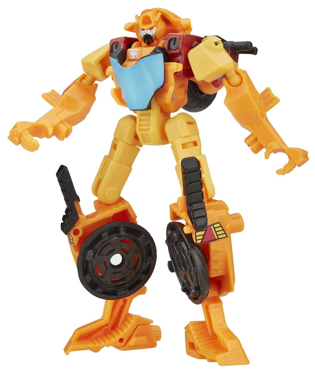 Transformers Трансформер Wreck-GarB0971_B5611Трансформер Transformers Wreck-Gar непременно понравится всем юным поклонникам знаменитых Трансформеров! Фигурка выполнена из прочного пластика в виде трансформера Wreck-Gar. Руки и ноги робота подвижны. В несколько простых шагов малыш сможет трансформировать фигурку робота в транспортное средство. В комплекте с игрушкой идет также коллекционная карточка. Ребенок с удовольствием будет играть с фигуркой, придумывая разные истории. Порадуйте его таким замечательным подарком!