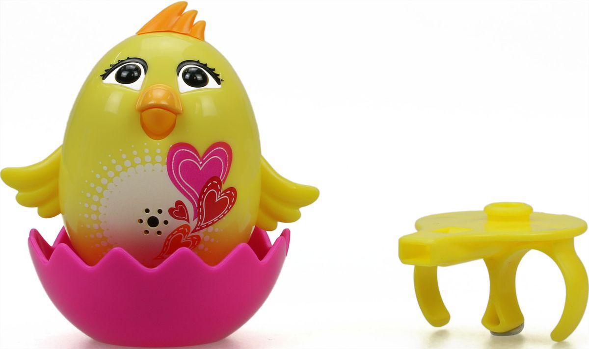DigiBirds Интерактивная игрушка Цыпленок с кольцом Mila цвет желтый88280-3