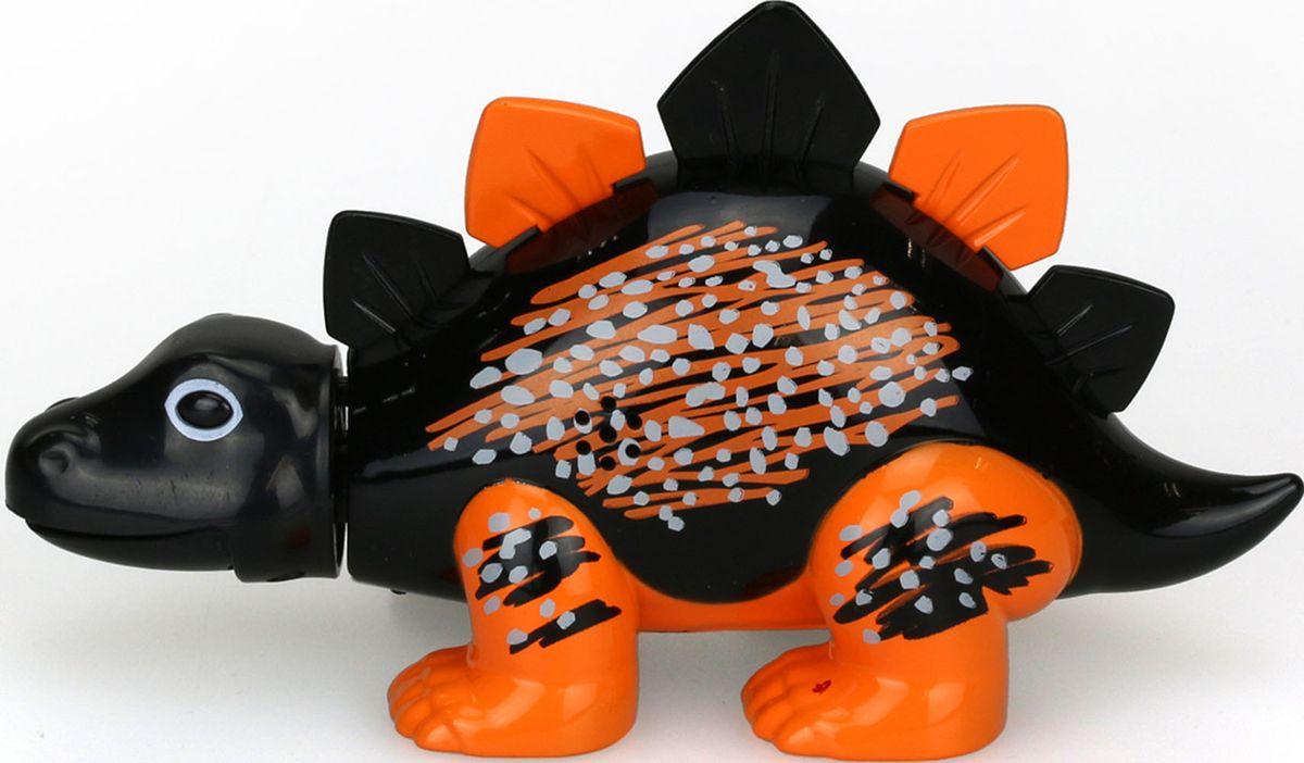 DigiBirds Интерактивная игрушка Динозавр Skye цвет черный с оранжевыми лапами88281-4