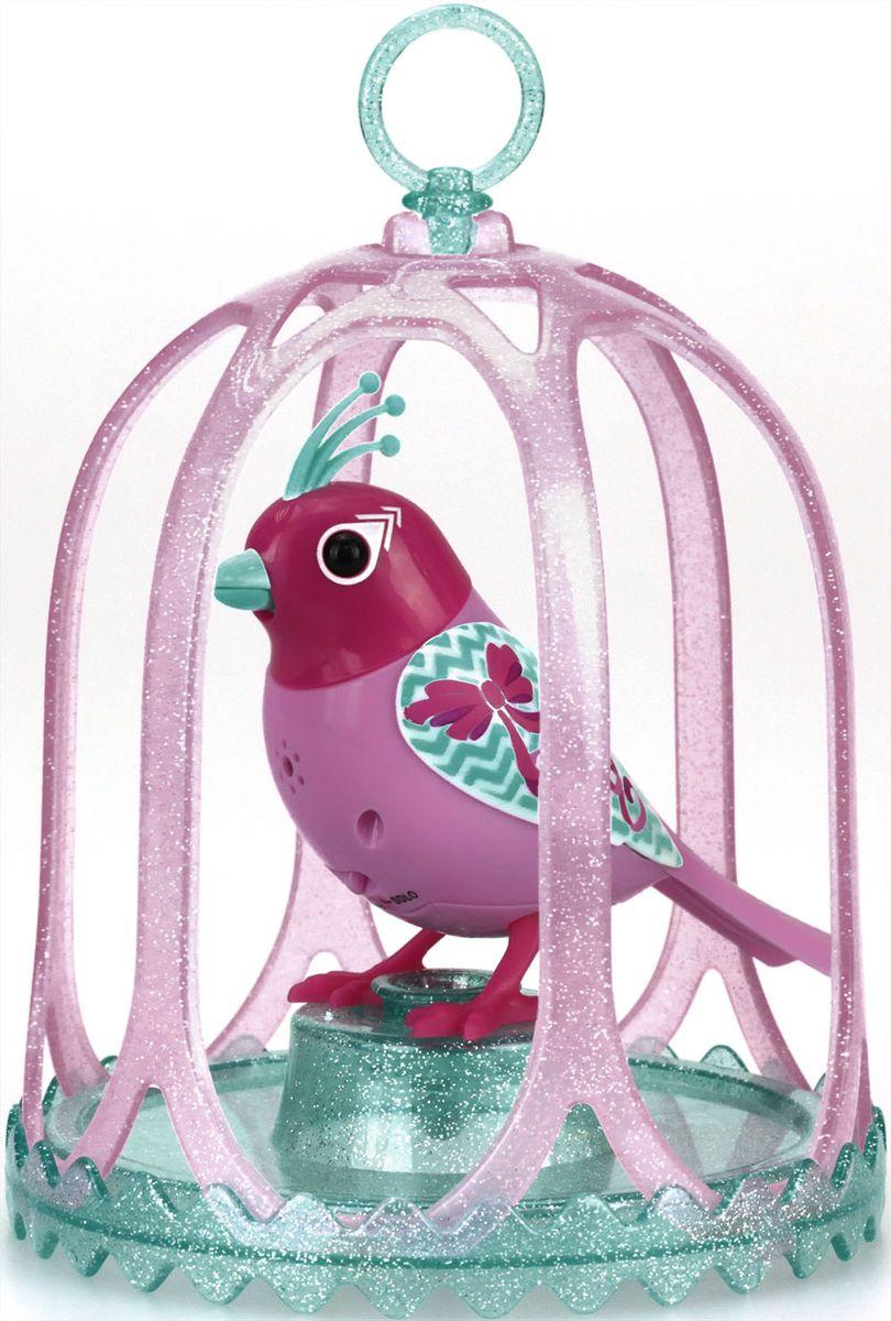DigiBirds Интерактивная игрушка Птичка с большой клеткой и кольцом 88295S-488295S-4