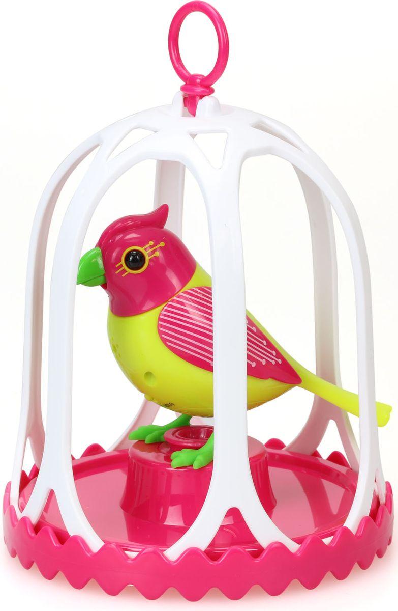 DigiBirds Интерактивная игрушка Птичка с большой клеткой и кольцом 88295S-588295S-5