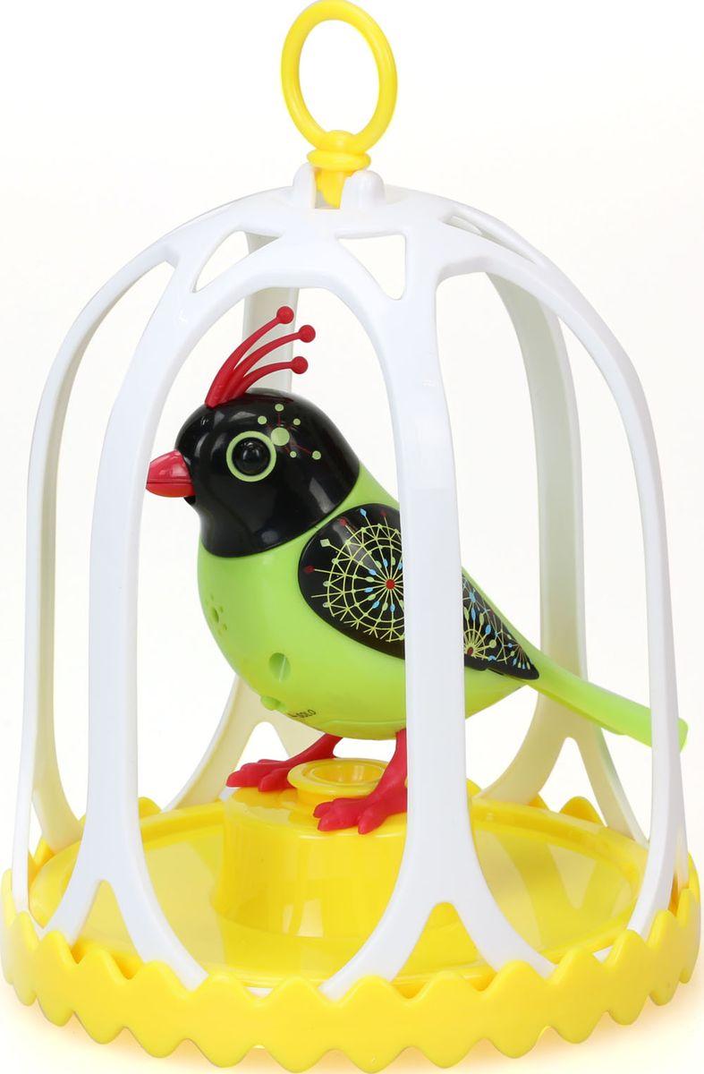DigiBirds Интерактивная игрушка Птичка с большой клеткой и кольцом 88295S-888295S-8