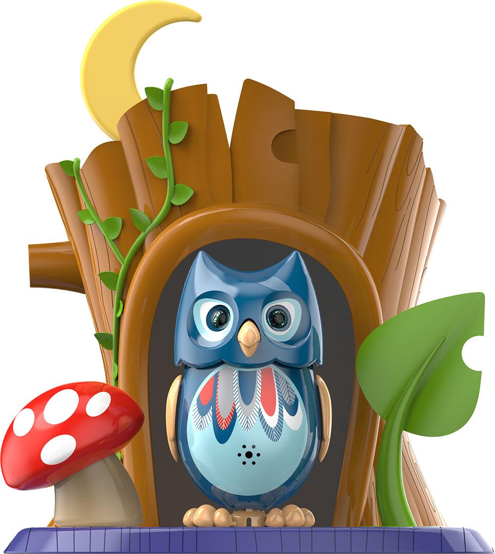 DigiBirds Интерактивная игрушка Сова с домиком 88359-488359-4