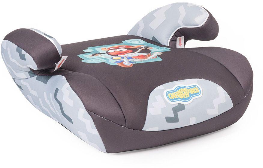 Смешарики Бустер ПинSM/DK-500 PinАвтомобильное кресло, типа бустер относится к группе 2/3 и подходит для детей весом от 15 до 36 кг., примерно, с 4 до 12 лет. Компактный и лёгкий бустер, украшенный персонажами любимого детьми мультфильма, позволит надежно зафиксировать ребёнка штатным ремнём безопасности. Толстый слой поролона подарит комфорт даже во время дальней поездки. Продукция прошла испытания и соответствует современным российским и европейским стандартам.