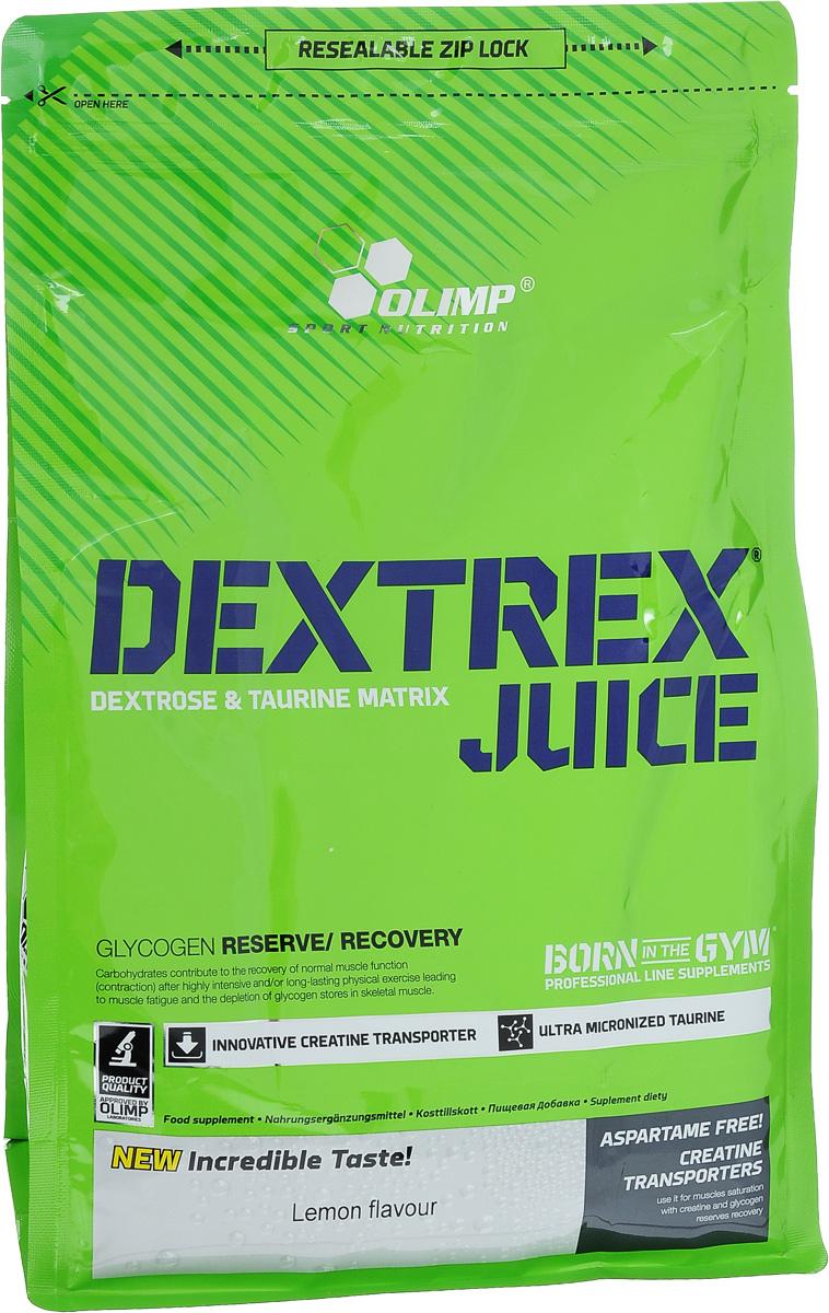 """Углеводный энергетик Olimp """"Dextrex Juice"""", лимон, 1 кг"""