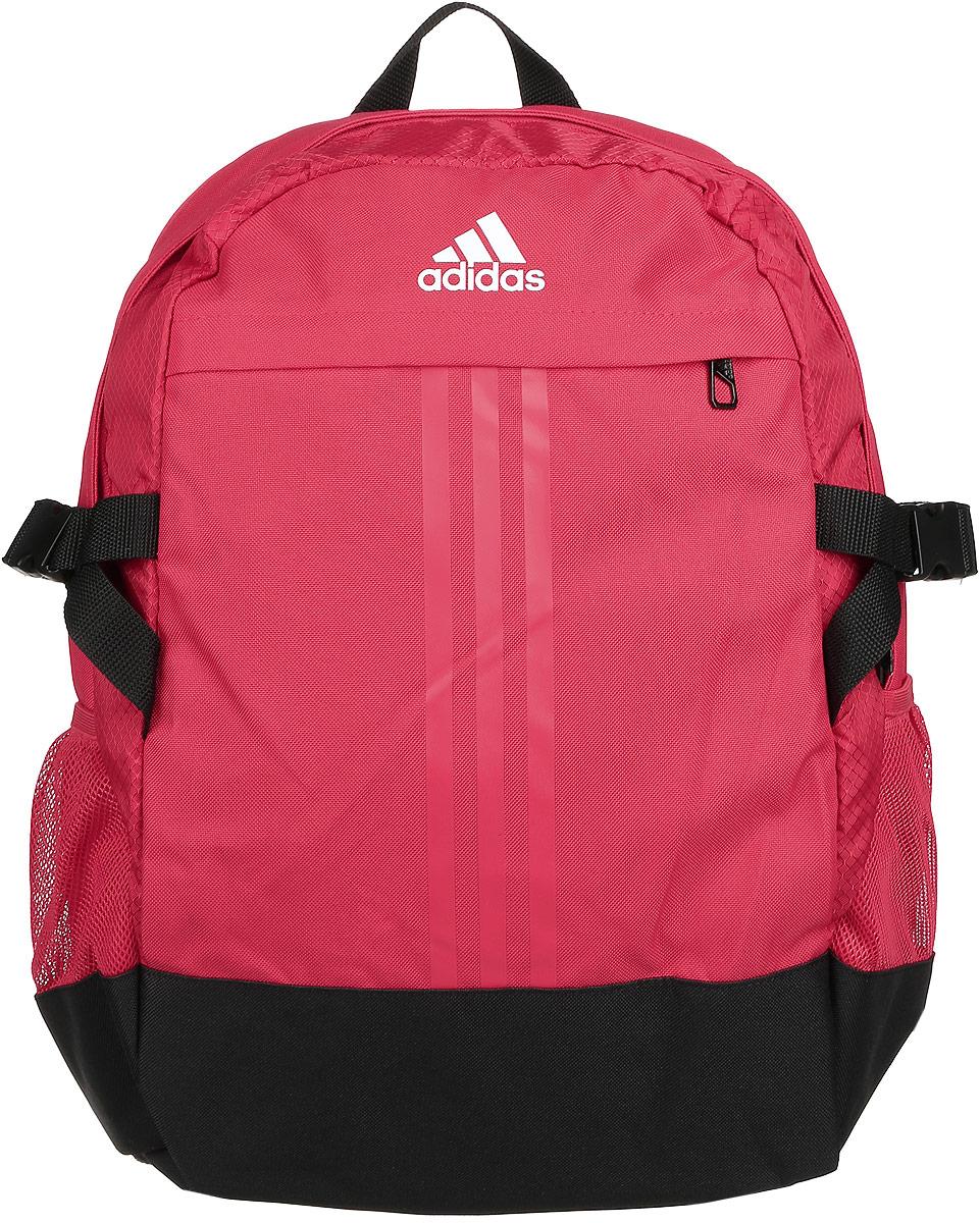 Рюкзак городской Adidas Bp power iii m, цвет: красный. AY5094AY5094Рюкзак, в который можно легко разместить ноутбук, с карманами для различной мелочи, ремнями для уменьшения объема.