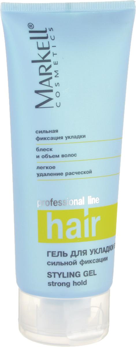 Markell Гель для укладки волос Professional Hair Line Сильной фиксации, 200 мл