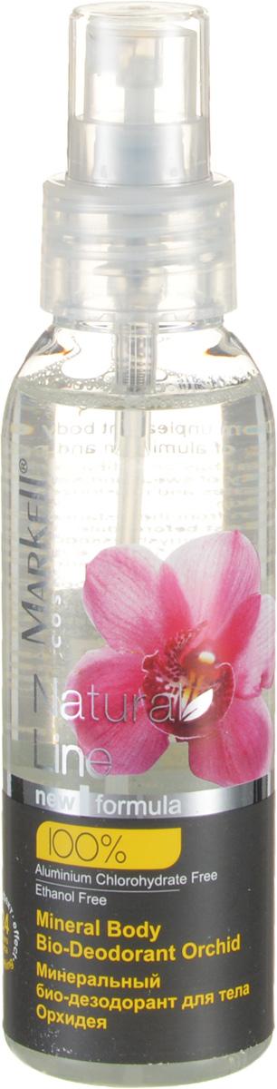Markell Natural Line Минеральный био-дезодорант для тела ОРХИДЕЯ, 100 мл