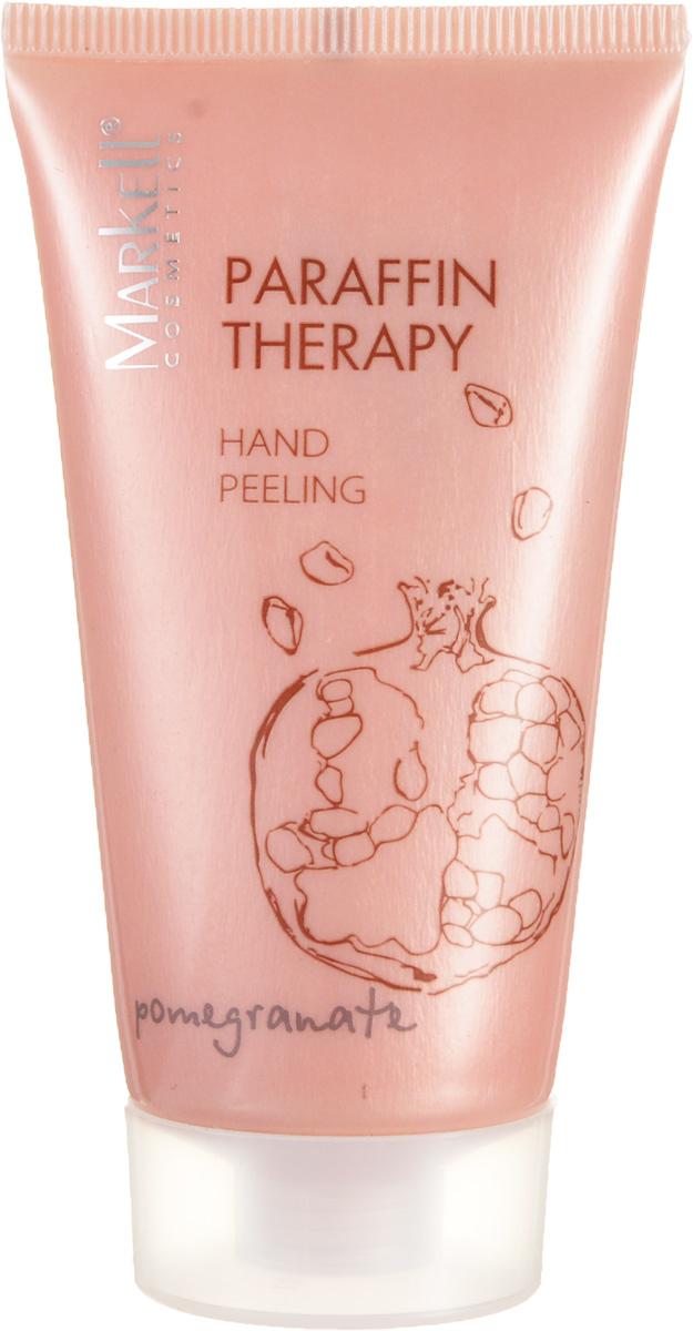 Markell Paraffin Therapy Пилинг для рук ГРАНАТ, 50 мл12571Пилинг для рук Гранат помогает подготовить кожу рук для нанесения увлажняющих и питательных средств. Входящие в состав скрабирующие частицы оказывают деликатное массажное действие и способствуют эффективному очищению кожи. Комплекс натуральных масел ши и бабассу обладает регенерирующим действием, прекрасно увлажняет сухую кожу, усиливает ее защитные функции, делает ее мягкой и гладкой. Аромат граната обеспечит дополнительную SPA-терапию.