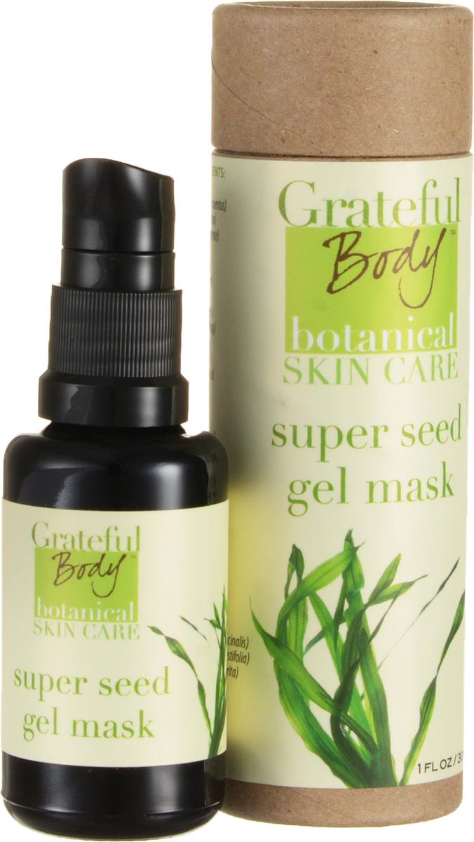 Grateful body Укрепляющая гелевая маска, 30 млUAGWНаша укрепляющая гелевая маска, раскрывающая потенциал здоровья и красоты Вашей кожи - это новый шедевр современного искусства ухода за кожей. Мы добываем питательные растительные гели из семян растений очень бережным способом, чтобы сохранить нетронутыми все питательные свойства. Мы неспешно смешиваем их с желатиновым концентратом морских водорослей, которые богаты минеральными веществами. Благодаря исследованиям свойств грибов, мы сделали еще один инновационный продукт, который помогает коже выглядеть здоровой и молодой. Работающие вместе водоросли и экстракты различных семян оживляют задуманное волшебство - мягкий, моментальный лифтинг! Наша гелевая маска настолько уникальна и универсальна, что не только укрепляет и подтягивает кожу, но и придает коже здоровый и сияющий вид, за счет стимуляции обменных процессов. Отличное средство, чтобы избавиться от мешков под глазами. Также это отличная основа для макияжа.