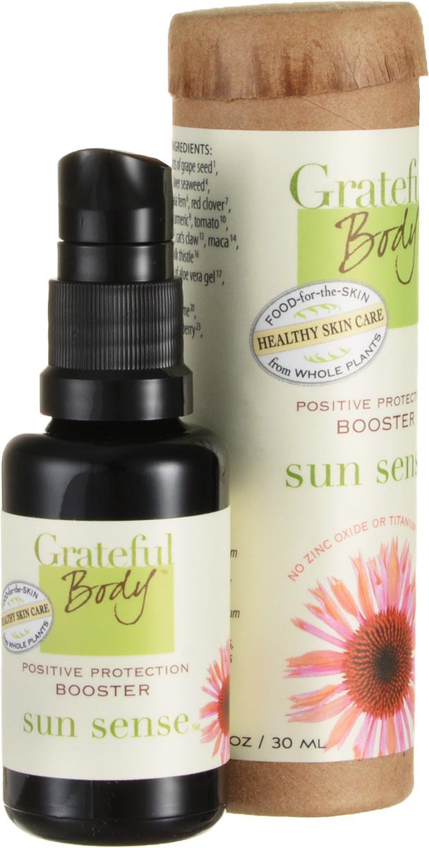 Grateful body Бустер: Сияние Солнца, 30 млBSSWЕсли Вы чувствуете себя не очень комфортно при использовании солнцезащитных кремов, то бустер Сияние солнца от Grateful Body - это здоровый и разумный выбор. Данный продукт снижает уровень радиационного воздействия, содержит высокий UV-фильтр. Сохраняет уровень увлажнения кожи, а так же работает как эффективное противовоспалительное средство. Бустер стимулирует защитные функции кожи и благодаря уникальным фитокомпозициям, позволят коже самостоятельно снижать вредное воздействие солнечных лучей. Бустер Сияние солнца дарит вам возможность наслаждаться пребыванием на солнце, не опасаясь за здоровье кожи. Не содержит оксид цинка, диоксид титана и других синтетических солнцезащитных экранов.