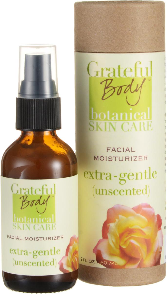 Grateful body Увлажняющий крем для чувствительной кожи, 60 млMEGWБезопасный и комфортный, нежный увлажняющий крем идеально подходит для чувствительной кожи. Огуречник, тысячелистник, дикий салат помогают успокоить раздраженную чувствительную кожу. Глубоко увлажняет. Без запаха. Сохраняет здоровье нежной и чувствительной кожи.