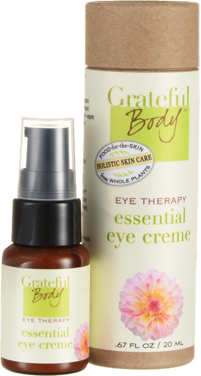 Grateful body Крем для глаз: Жизненная сила, 20 млYEEWИз статистики отзывов наших постоянных клиентов и их неизменной преданности этому продукту мы сделали вывод, что создали идеальный крем для глаз - тот, о котором мечтает каждая женщина, тот крем который работает именно так, как обещает. Основа крема простые, но эффективные ингредиенты, которые укрепляют, выравнивают, увлажняют и смягчают нежную кожу вокруг глаз.