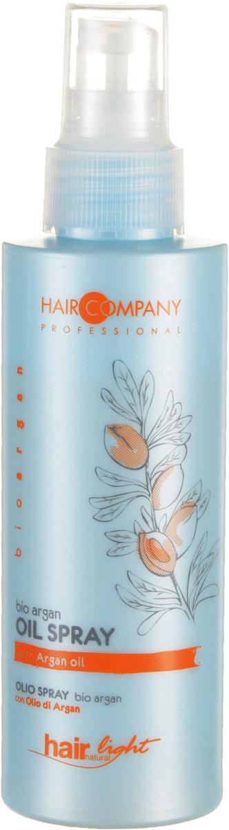 Hair Company Спрей для волос с био маслом Арганы Professional Light Bio Argan Oil Spray 125 мл255794Спрей имеет уровень pH, который идеально подходит для повреждённых и окрашенных волос. Используется перед процедурой окрашивания, обесцвечивания или химической завивки. Особенности продукта: Прекрасно увлажняет и делает цвет окрашенных волос более яркий и стойкий Экстракт арганового мала в составе Локоны легко расчёсываются Результат применения – насыщенные цвета, волосы более мягкие, шелковистые и блестящие!