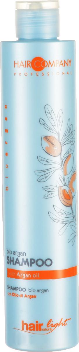 Hair Company Шампунь для волос с био маслом Арганы Professional Light Bio Argan Shampoo 250 мл (Hair Company Professional)