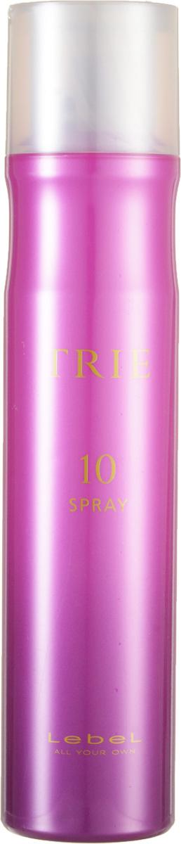 Lebel Trie Спрей для укладки очень сильной фиксации Fix Spray 10 170 г2183лпСпрей для укладки Lebel Trie: Спрей для моментальной сильной фиксации (финиш-этап). Придаёт укладке законченный вид и сохраняет её на протяжении длительного времени. Защищает волосы от термического воздействия и негативных факторов окружающей среды, нейтрализует свободные радикалы. Препятствует впитыванию посторонних запахов. Новый аромат La France (груша). SPF 15.