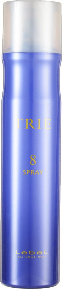 Lebel Trie Спрей для укладки сильной фиксации Fix Spray 8 170 г2176лпСпрей для укладки сильной фиксации Lebel Trie: Спрей для эластичной, подвижной фиксации. Придаёт укладке законченный вид, сохраняя гибкость и подвижность волос. Для повседневных укладок и частого применения. Защищает от агрессивного воздействия окружающей среды. Препятствует впитыванию посторонних запахов. Новый аромат La France (груша). SPF 15.