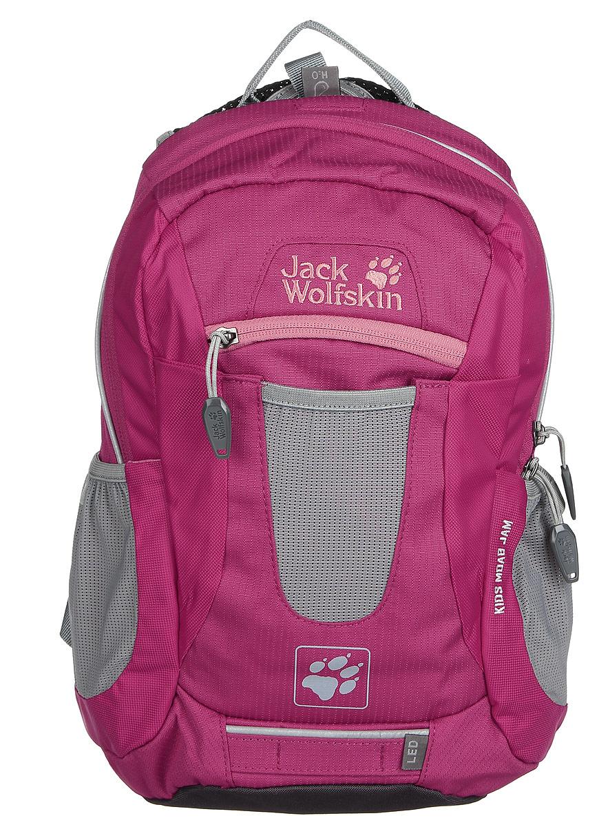 Рюкзак городской Jack Wolfskin KIDS MOAB JAM, цвет: ярко-розовый, 10 л. 2000851-20812000851-2081Универсальный рюкзак с отличной вентиляцией для детей от 6 лет