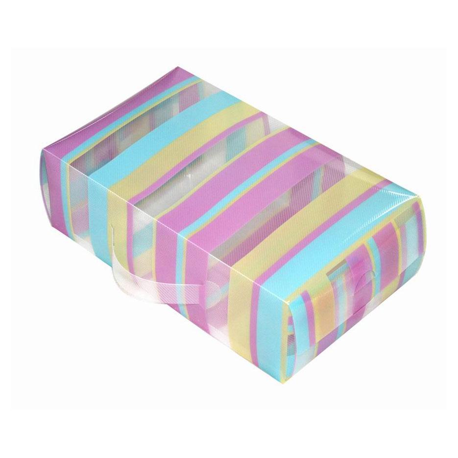 Короб для xранения обуви Miolla, 30 x 18 x 10 смPLS-7Удобный пластиковый короб для хранения обуви Miolla станет идеальным решением для организации пространства вашего гардероба. Можно больше не переживать за сохранность дорогих туфель или изысканных босоножек, короб Miolla позволит отделить одну пару от другой и в отличие от картонных аналогов не потеряет форму, угрожая испортить любимую обувь. Размер короба: 30 х 18 х 10 см.