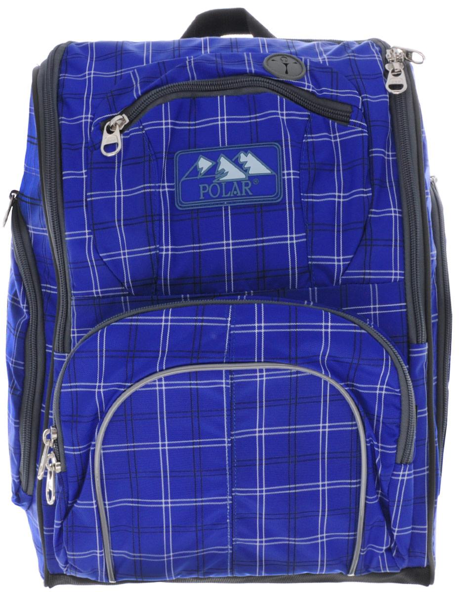 Рюкзак детский городской Polar, 19 л, цвет: синий. П3065А-04П3065А-04Детский городской рюкзак для школы. Удобные для детей двухсторонние застежки. Полностью вентилируемая и удобная мягкая спинка, мягкие плечевые лямки создают дополнительный комфорт приношении. Основное отделение с внутренним отделением на молниях. Большие карманы для аксессуаров и персональных вещей. Маленький карман для mp3, CD плеера. Выход для наушников, возможность слушать музыку в то время как плеер хорошо защищен в специальном кармане рюкзака. Два боковых кармана на молнии. Регулирующая грудная стяжка с удобным фиксатором. Система циркуляции воздуха Air. Материал Polyester Oxford PU 600D.