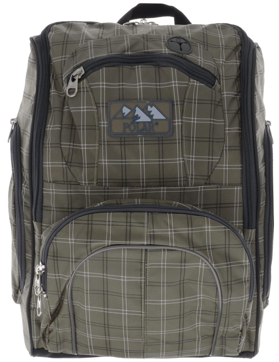 Рюкзак детский городской Polar, 19 л, цвет: бежевый. П3065А-13П3065А-13комфорт приношении. Основное отделение с внутренним отделением на молниях. Большие карманы для аксессуаров и персональных вещей. Маленький карман для mp3, CD плеера. Выход для наушников, возможность слушать музыку в то время как плеер хорошо защищен в специальном кармане рюкзака. Два боковых кармана на молнии. Регулирующая грудная стяжка с удобным фиксатором. Система циркуляции воздуха Air. Материал Polyester Oxford PU 600D.