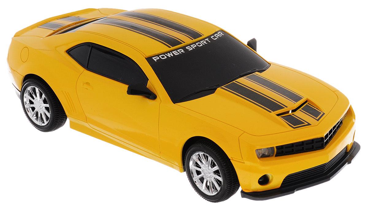Junfa Toys Машинка инерционная Racing цвет желтый7754AИнерционная машинка Junfa Toys Racing, выполненная из безопасного пластика, станет любимой игрушкой вашего ребенка. Игрушка представляет собой уменьшенную копию гоночного автомобиля со световыми и звуковыми эффектами. Игрушка оснащена инерционным механизмом. Достаточно немного подтолкнуть ее назад или вперед, а затем отпустить, и машинка сама поедет в том же направлении. Световые и звуковые эффекты включаются при надавливании на капот машинки. Ваш ребенок будет увлеченно играть с этой машинкой, придумывая различные истории. Порадуйте его таким замечательным подарком! Для работы игрушки необходимы 3 батарейки типа LR44 (AG13)(товар комплектуется демонстрационными).