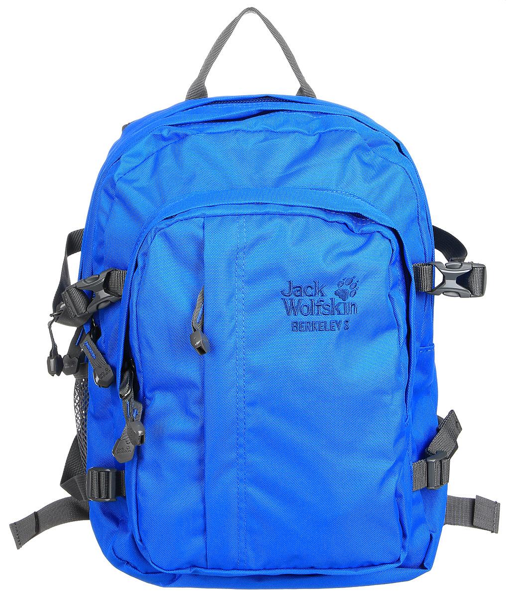 Рюкзак городской Jack Wolfskin Berkeley s, цвет: голубой, 23 л. 25336-115225336-1152Повседневный рюкзак с отделением ОРГАНАЙЗЕР для детей от шести лет. Безопасный комфорт при ношении и идеальная организация для путешествий: BERKELEY S — настоящий универсал и одна из наших классических моделей. Мы создали его для детей от шести лет и оснастили поддерживающей системой SNUGGLE UP (СНАГЛ АП). Особо широкие ремни и отстегиваемый передний поясной ремень равномерно распределяют нагрузку, обеспечивая малышу свободу движений. В двух вместительных основных отделениях и большом переднем отделении ваш маленький любитель активного отдыха сможет разместить книги и тетради, спортивную одежду или свой перекус. Сетчатый карман сбоку, передний карман и практичные, маленькие кармашки идеально подходят для таких мелких предметов, как карандаши, мобильный телефон или MP3-плеер. Благодаря интегрированному карабину ключи от дома или велосипеда никогда не потеряются.
