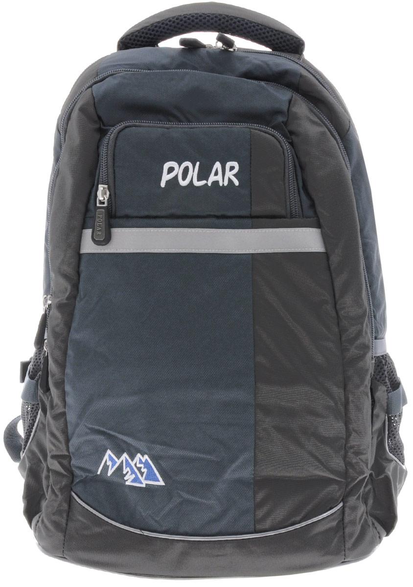 Рюкзак детский городской Polar, 26 л, цвет: серый. П220-06П220-06Рюкзак фирмы Polar изготовлен из ткани с водоотталкивающей пропиткой. Жесткая спинка рюкзака имеет специальные вставки для лучшего воздухообмена. Новая конструкция лямок позволяет регулировать их не только по длине, но и согласно Вашему росту. Специальное крепление в верхней части каждой лямки поможет отрегулировать их так, что рюкзак сможет носить как взрослый, так и ребенок, не создавая дискомфорта для спины. Жесткое дно делает рюкзак устойчивым и дополняет удобством при ношении.
