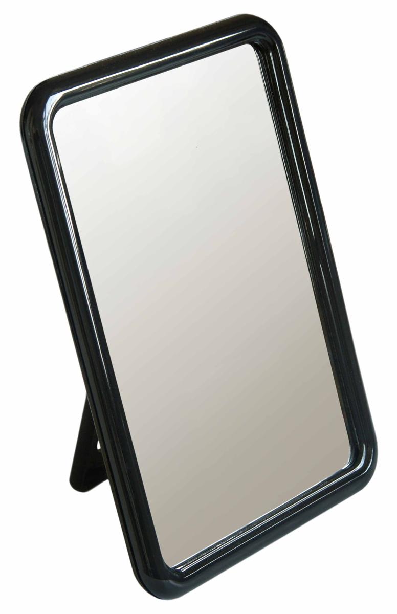 Silva Зеркало настольное, прямоугольное, цвет: черный