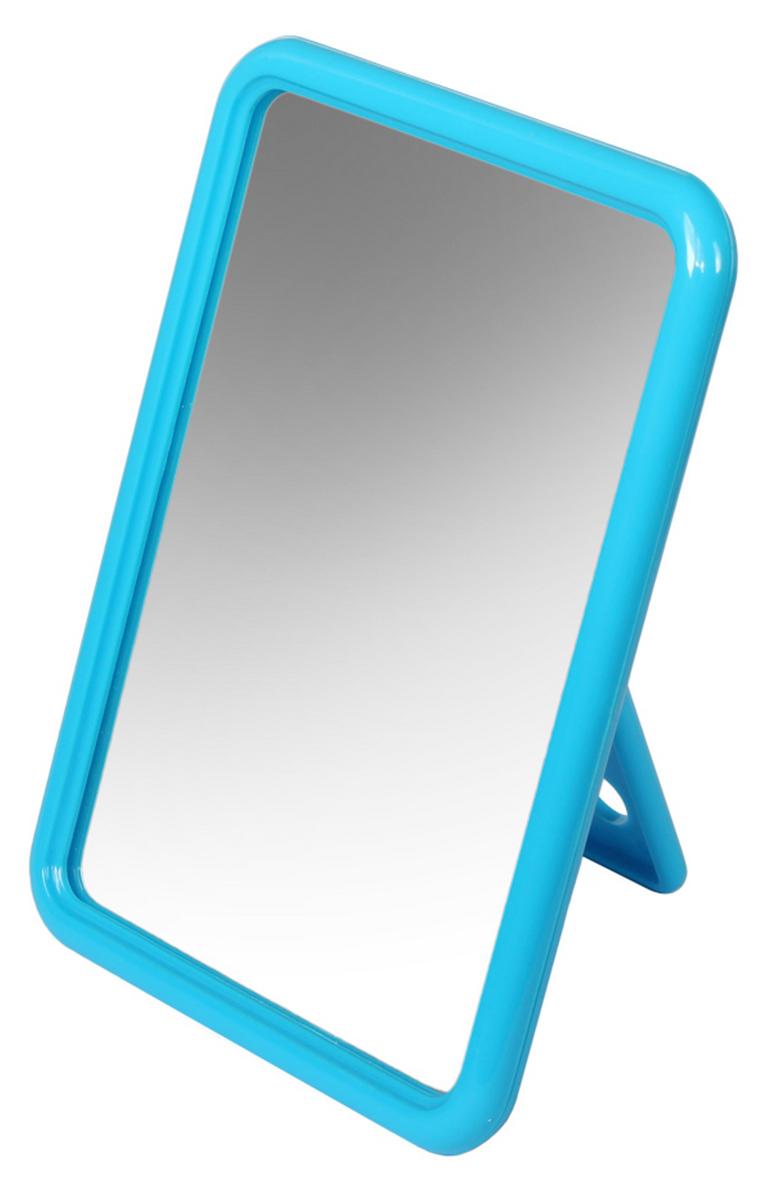 Silva Зеркало настольное, прямоугольное, цвет: голубой SZ 585
