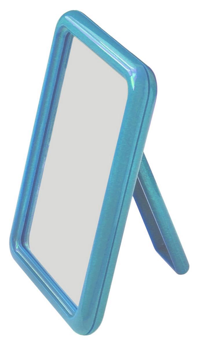 Silva Зеркало настольное, одностороннее, цвет: голубой SZ 588