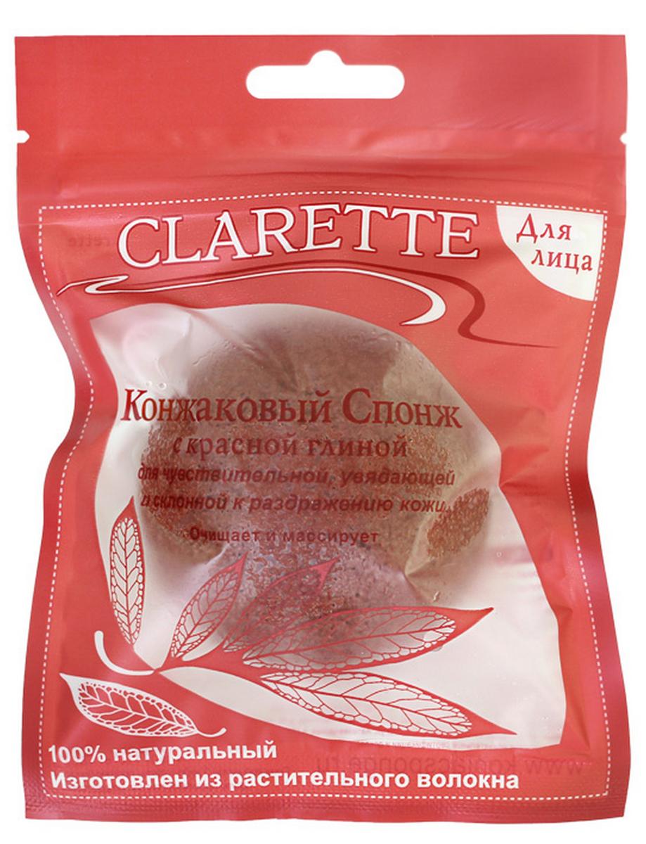Clarette Конжаковый спонж с красной глиной для лица,красныйCKS 480Конжаковый спонж с красной глины для лица. Подходит для чувствительной, увядающей, и склонной к раздражению кожи . Очищает и массирует 100% натуральный. Изготовлен из растительного волокна. Растение Конжак выращивается в горах Японии и Китая и имеет более 2000-летнюю историю применения в оздоровительном питании и косметологии. Конжаковые спонжи изготавливаются из 100% чистого натурального конжакового волокна, богатого своими полезными компонентами. Один из них, глюкоманан, способствует мягкому удалению отмершего рогового слоя кожи, бережно и тщательно очищает поры, не повреждая поверхностть кожи, делает ее сияющей и ослепительно чистой. Благодаря глюкоманану, конжаковое волокно имеет удивительную способность удерживать воду делая спонж невероятно мягким и нежным. Благодаря необычайно мягкой структуре, спонж аккуратно очищает, массирует и увлажняет кожу, придавая ей натуральный блеск, и, мягко отшелушивает кожу, деликатно массирует, улучшая кровообращение кожи лица, оказывает...
