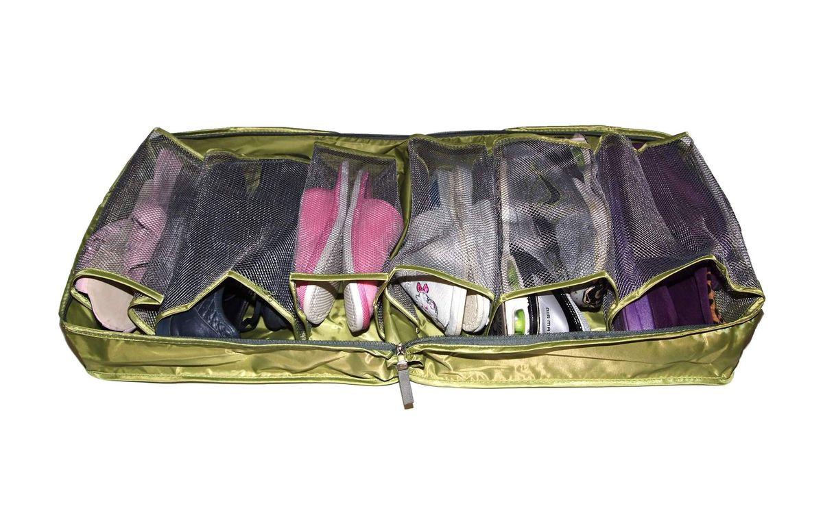 Чехол дорожный для обуви HomeMaster, цвет: зеленый, 36 х 36 х 17 смSO-304Кофр предназначен для хранения и транспортировки обуви. Качественный и непромокаемый полиэстер обеспечит надежную защиту ваших вещей в дороге. Вы всегда, быстро найдете нужную пару обуви благодаря прозрачной поверхности.