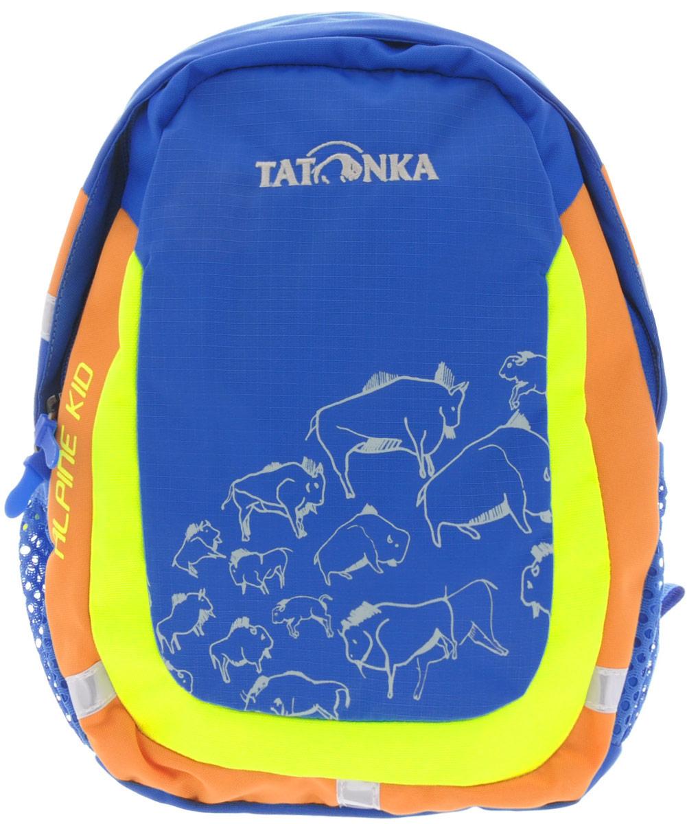 Рюкзак детский Tatonka Alpine Kid, цвет: синий, 6 л1831.194Городской рюкзак для детей от 3 до 5 лет. С объемом основного отделения 6 л. и накладным карманом со светоотражающими вставками - Alpine Kid подходит малышу не только для того, чтобы дойти до детского сада, но и для более длинных маршрутов.