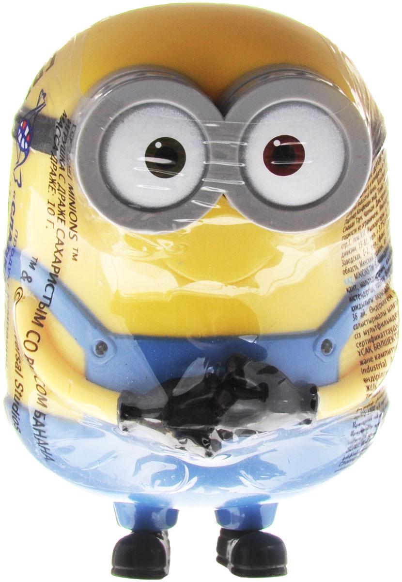 Minions драже со вкусом банана с игрушкой, 10 г