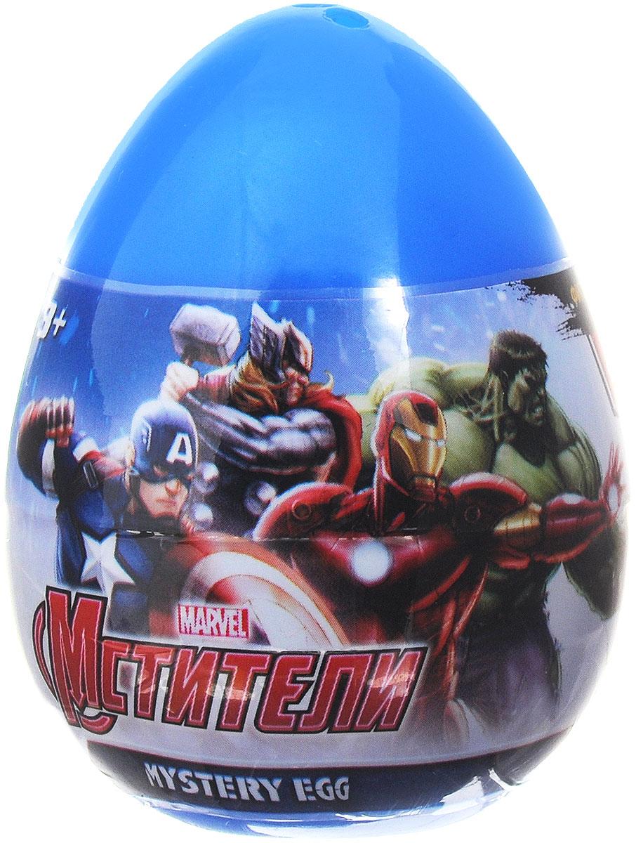 Mystery Egg Яйцо с фигуркой Мстители280308-PCСоберите целую коллекцию супергероев-мстителей вместе с яйцами-сюрпризами Mystery Egg. В ассортименте представлены узнаваемые и популярные герои Marvel - капитан Америка, Железный Человек, Тор, Соколиный глаз, Черная вдова и Халк. Они выглядят очень ярко, красочно и реалистично - играть с ними одно удовольствие! Игрушки поставляются в непрозрачной пластиковой упаковке в форме яйца - вы никогда не узнаете, какой именно герой попадется вам на этот раз до того, пока не откроете упаковку! Собирать коллекцию будет интересно и увлекательно!