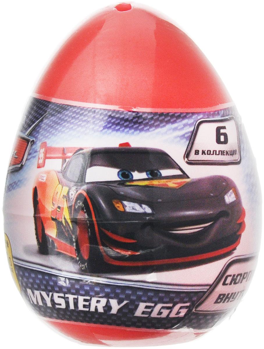 Mystery Egg Яйцо с фигуркой Тачки280292-PCТачки Mystery Egg - это фигурки по мотивам мультфильма Cars 2, столь популярного среди мальчишек во всем мире. Молния МакКуин и его друзья ждут вас! Игрушка поставляется в закрытой упаковке в виде яйца - вы не узнаете, какой из героев достался вам на этот раз, пока не откроете ее. Соберите целую коллекцию оригинальных фигурок - персонажей мультфильма Тачки, обменивайтесь ими с друзьями и играйте! В ассортименте 6 различных машинок. Фигурки выполнены из пластика. В каждом яйце находится одна фигурка.