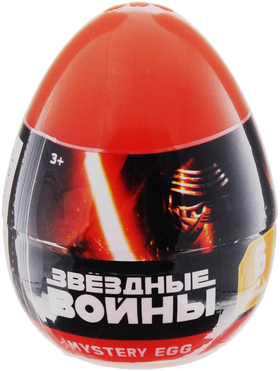Mystery Egg Яйцо с фигуркой Звездные войны280261-PCИгрушка Mystery Egg станет отличным подарком для каждого поклонника легендарной киноэпопеи Звездные войны. В ассортименте представлены фигурки самых узнаваемых персонажей вселенной Star Wars: капитана Хана Соло с бластером в руке, его друга и напарника Чубакки, грозного Дарта Вейдера с красным световым мечом, Штурмовика в классических белых доспехах, Боба Фетта, а также мастера Йоды. Фигурка поставляется в пластиковом непрозрачном яйце-сюрпризе, и вы не можете знать, какой именно персонаж попадется вам на этот раз. Можно меняться героями с друзьями, чтобы собрать полную коллекцию!